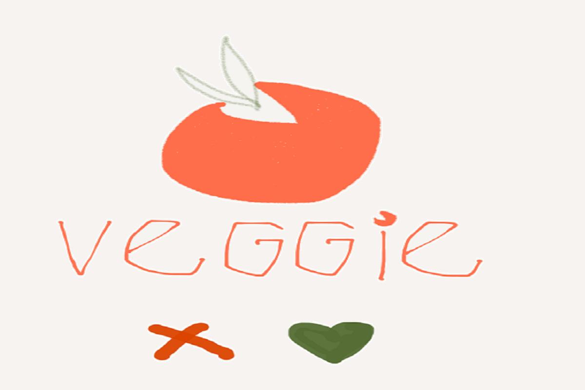 Illustrasjon av en tomat på Tinder.