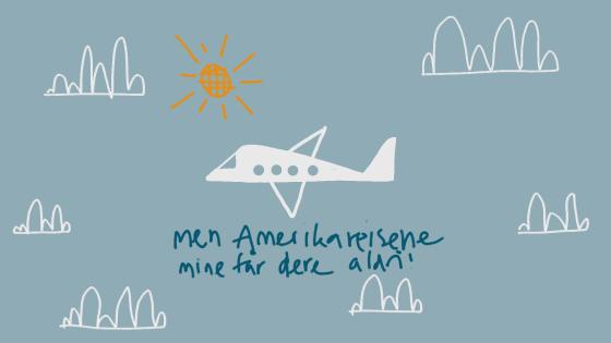 Illustrasjon av fly.